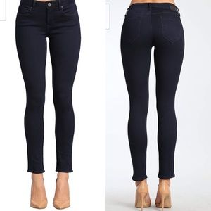 Mavi Alexa skinny midrise jean, w33, L32